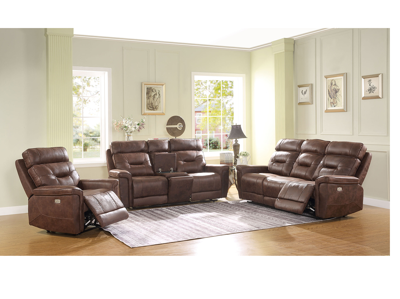 Jacob Power Recline Sofa