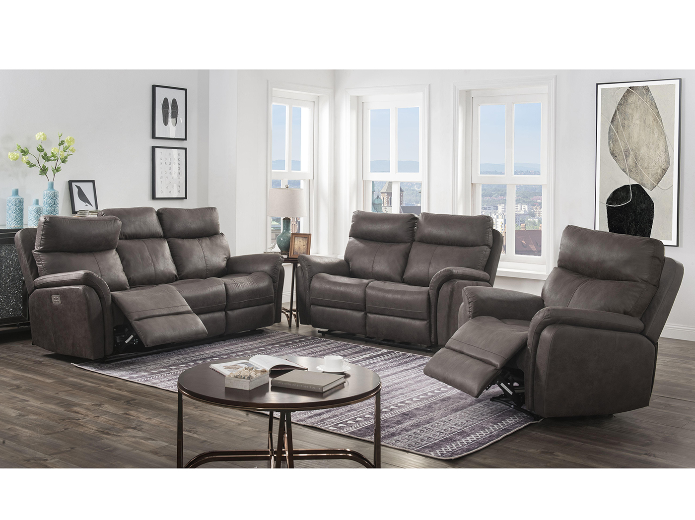 Tanner Hall Power Headrest Loveseat