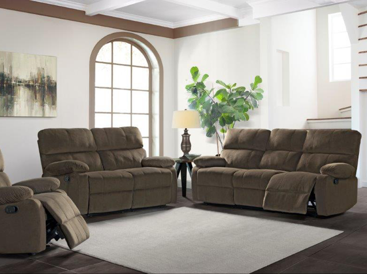 Coleman Reclining Loveseat