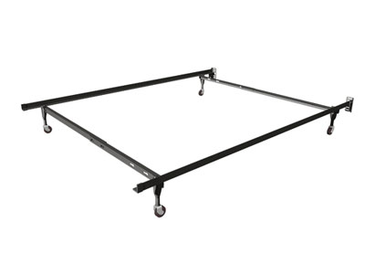 insta lock twinfull bed frame