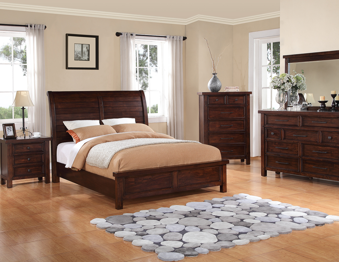 Tuscany Twin Sleigh Bed