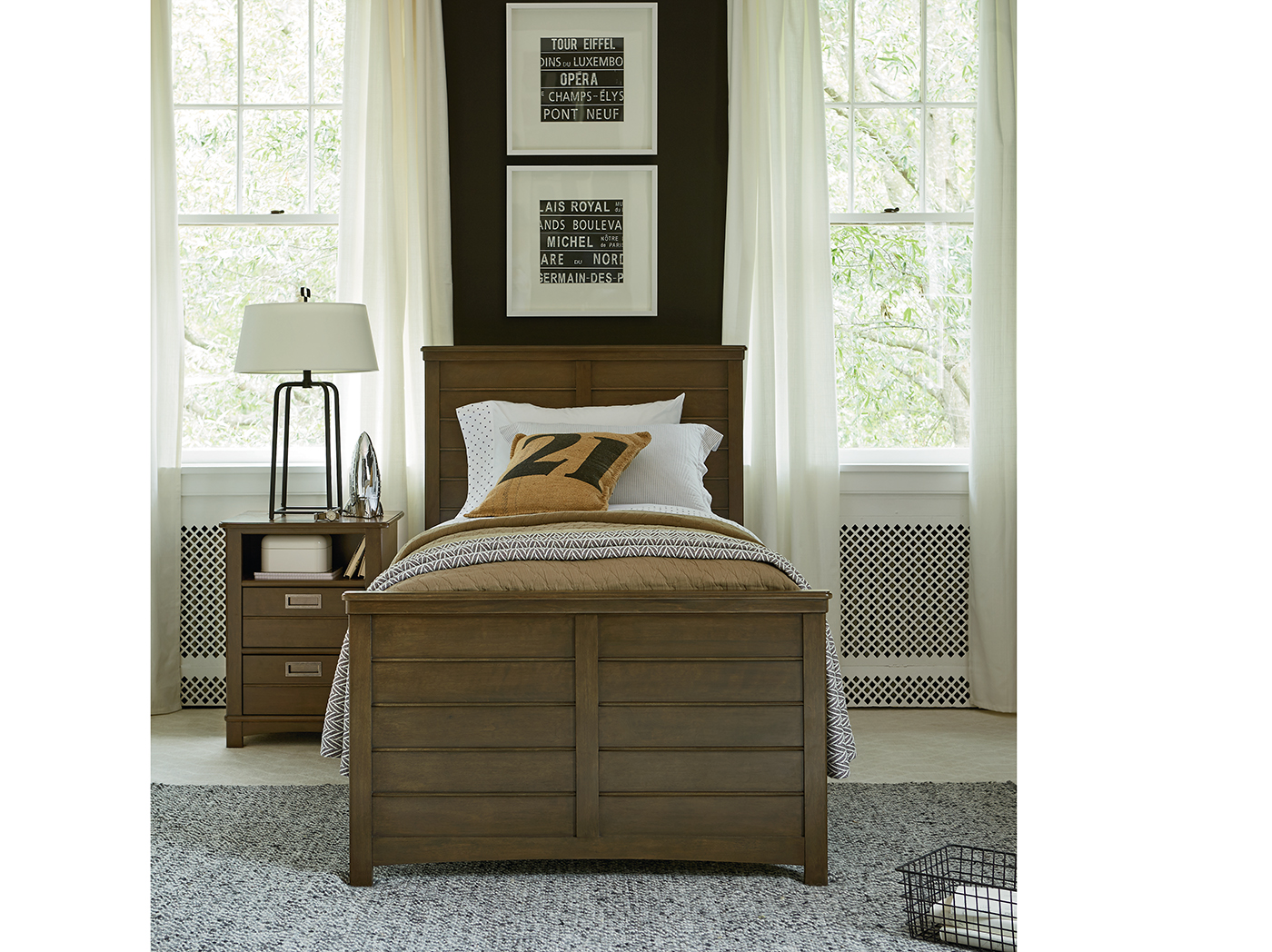 Varsity Twin Reading Bed