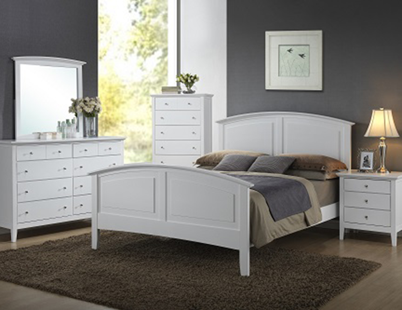 Parkway Twin Panel Bed