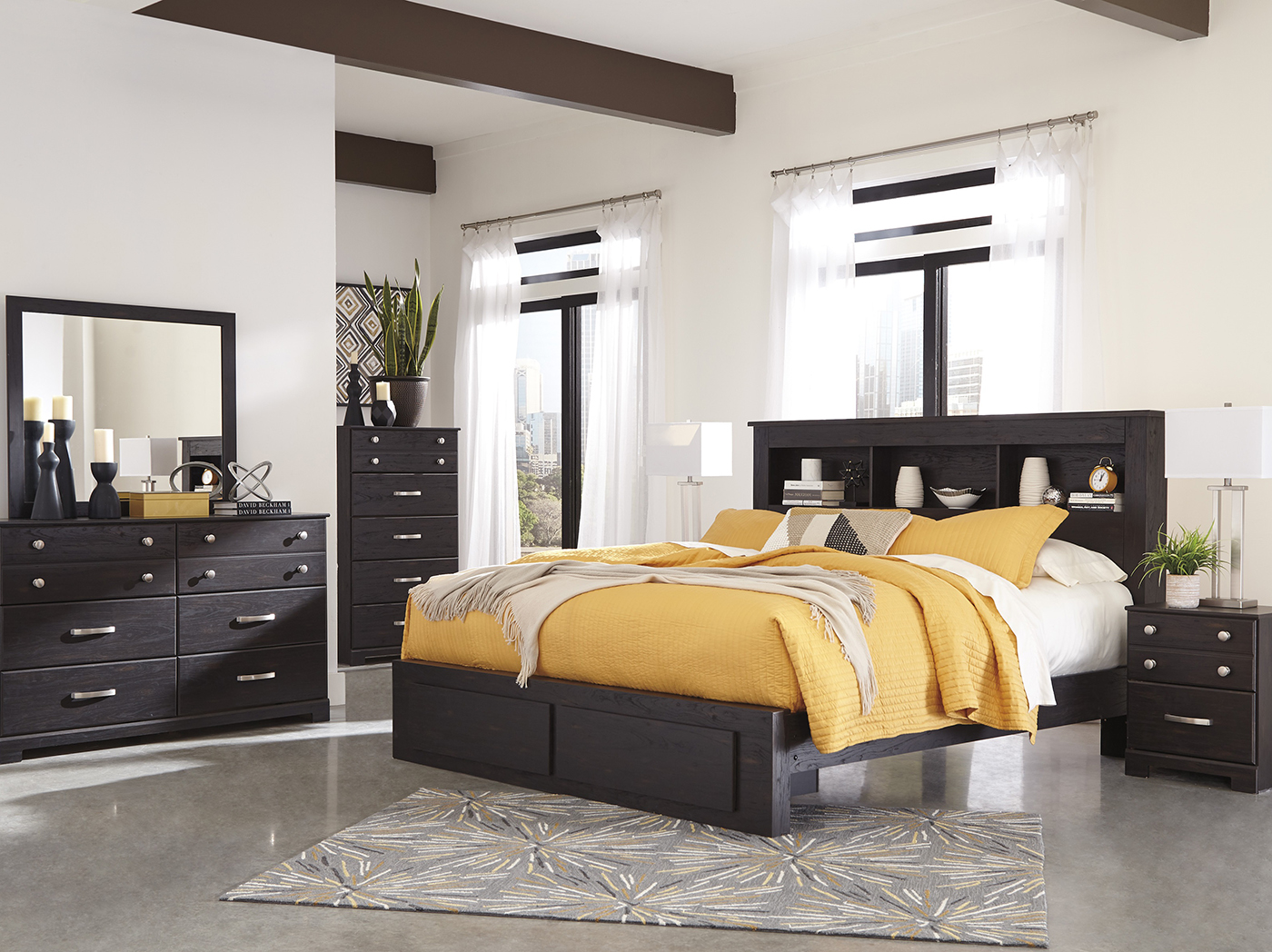 Reylow 3-pc. Queen Storage Bedroom Set