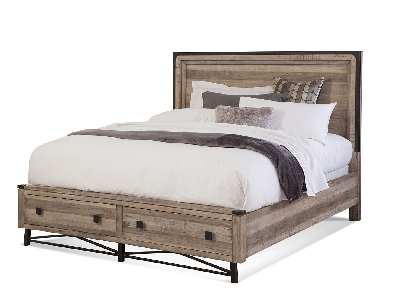 Arlington Queen Panel Storage Bed
