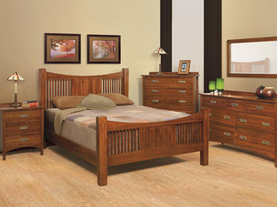 Heartland Queen Slat Bed