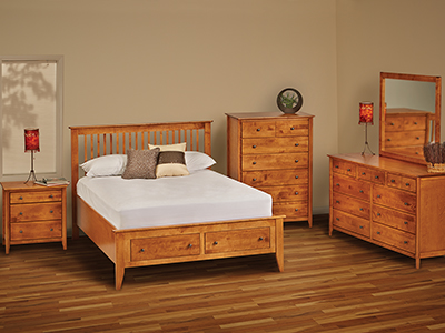 Stratford Queen Storage Bed