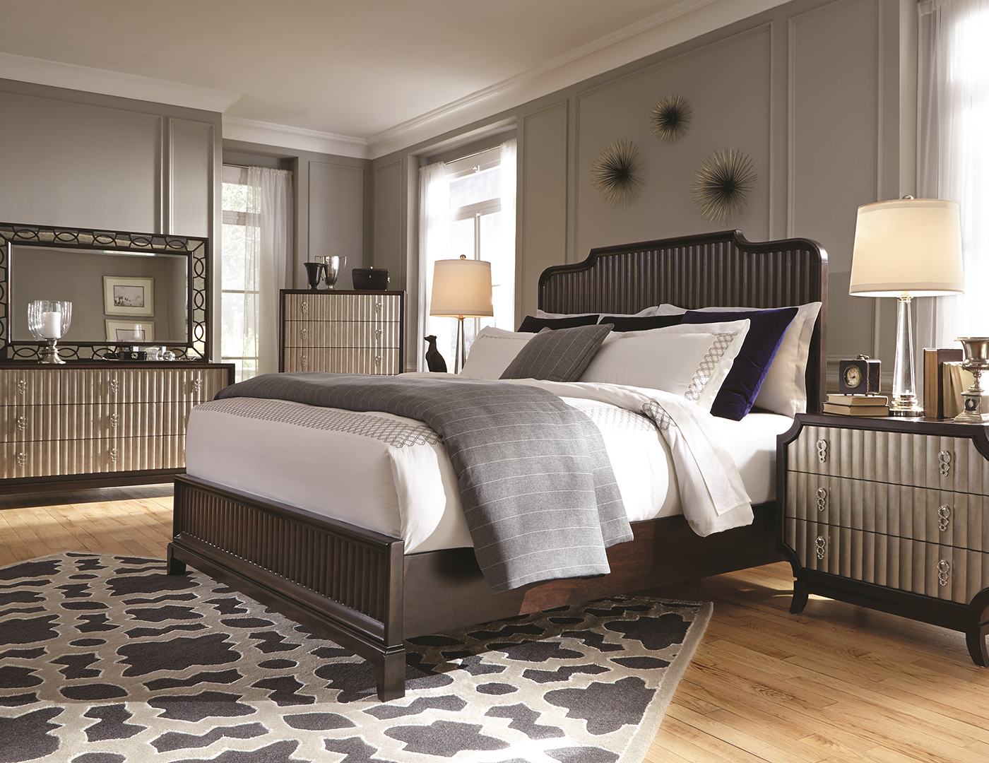 Gramercy Queen Panel Bed