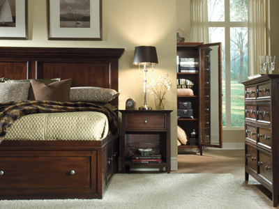 Direct Designs® Spencer Queen Storage Bed