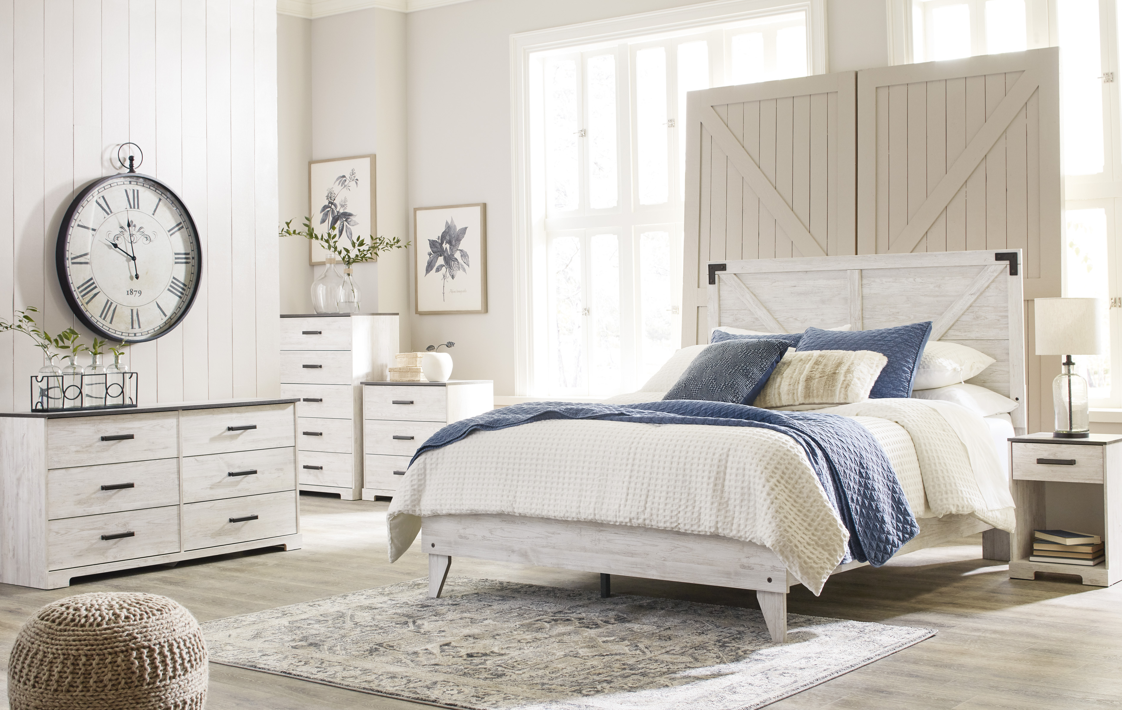 CMA Shawn Queen Panel Bed