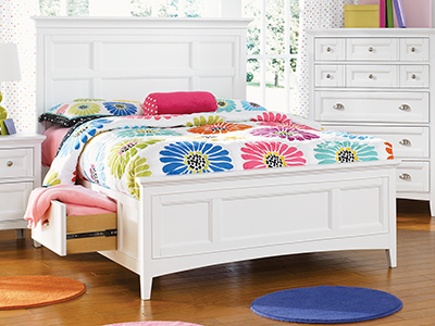 Kenley Full Panel Storage Bed