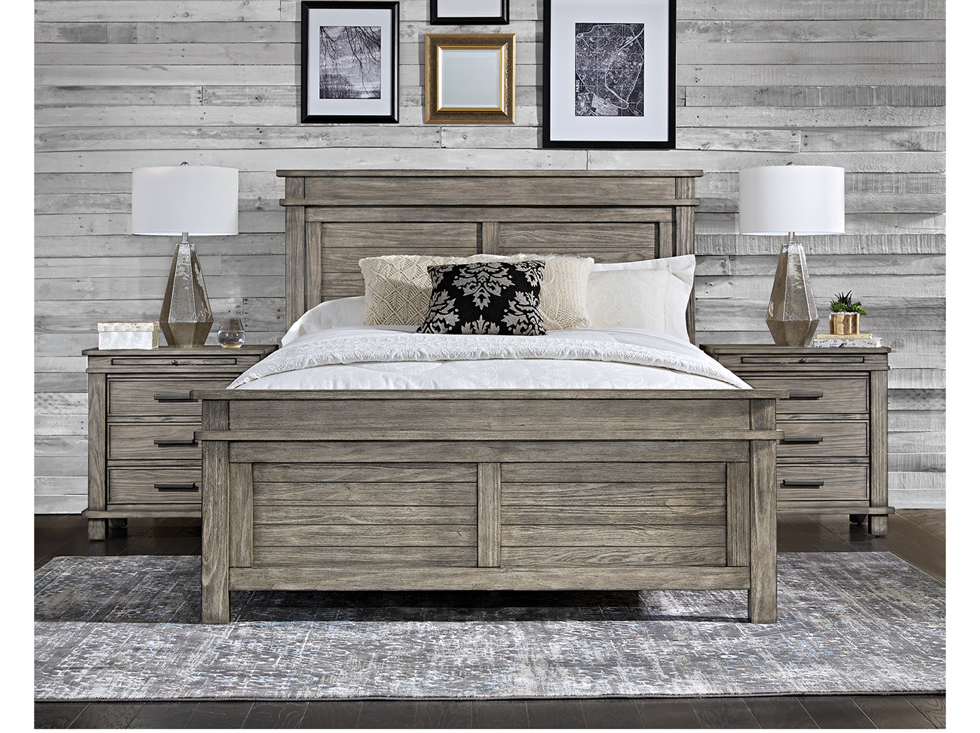 Mineral Point Queen Panel Bed