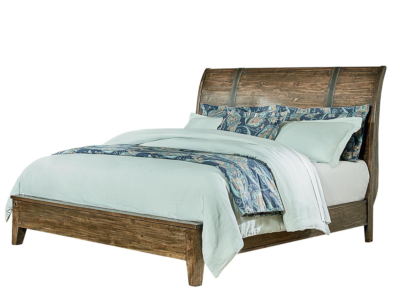 nelson queen sleigh bed - Sleigh Bed Frame Queen
