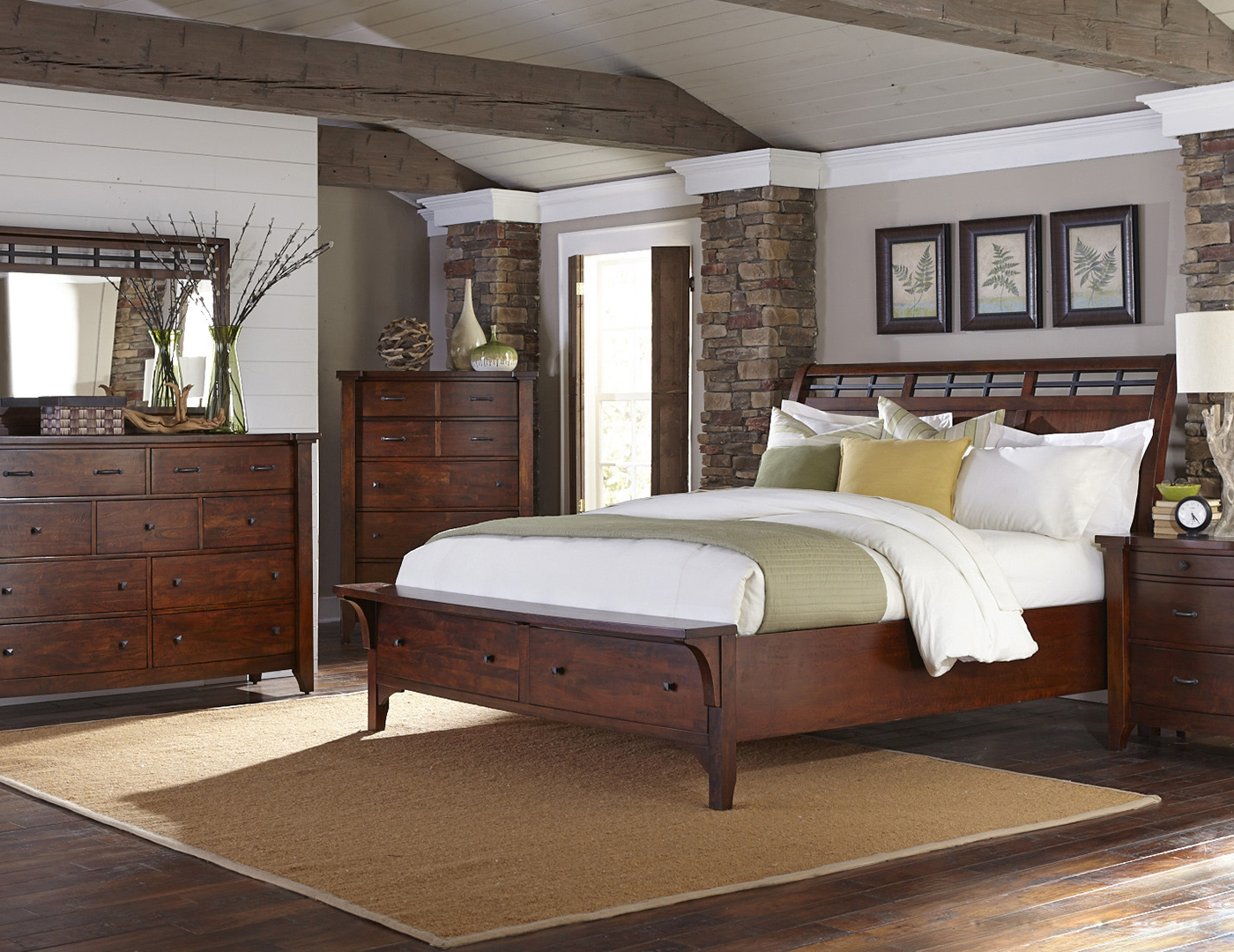 Whistler Retreat Queen Storage Bed & Whistler Retreat Queen Storage Bed | Steinhafels