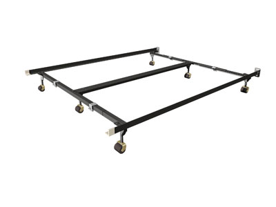 Queen/King/Cal King Clamp-Lock Bed Frame