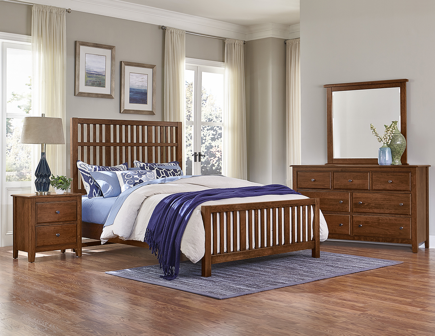 Artisan Choices King Craftsman Bed