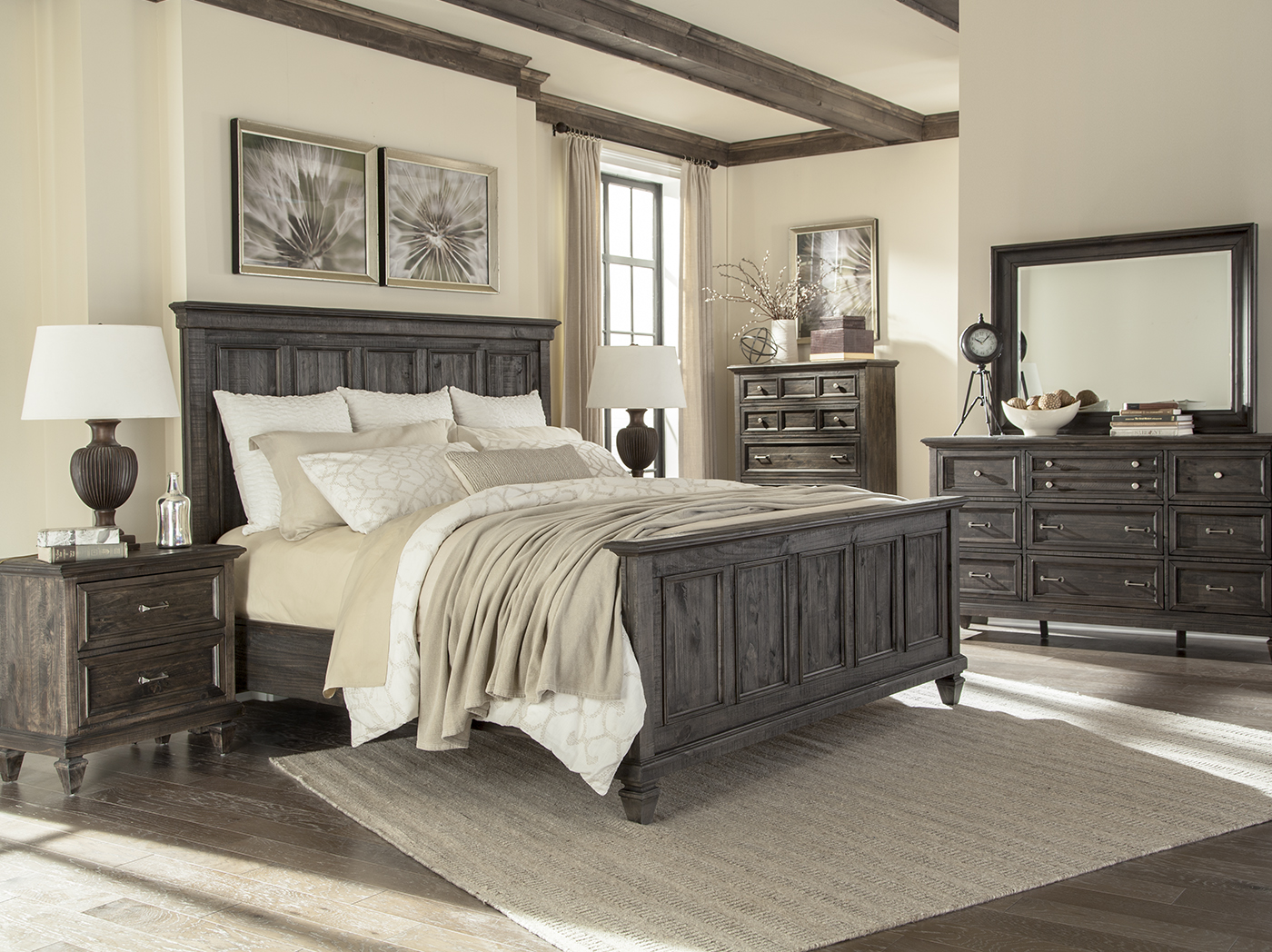 Calistoga King Panel Bed