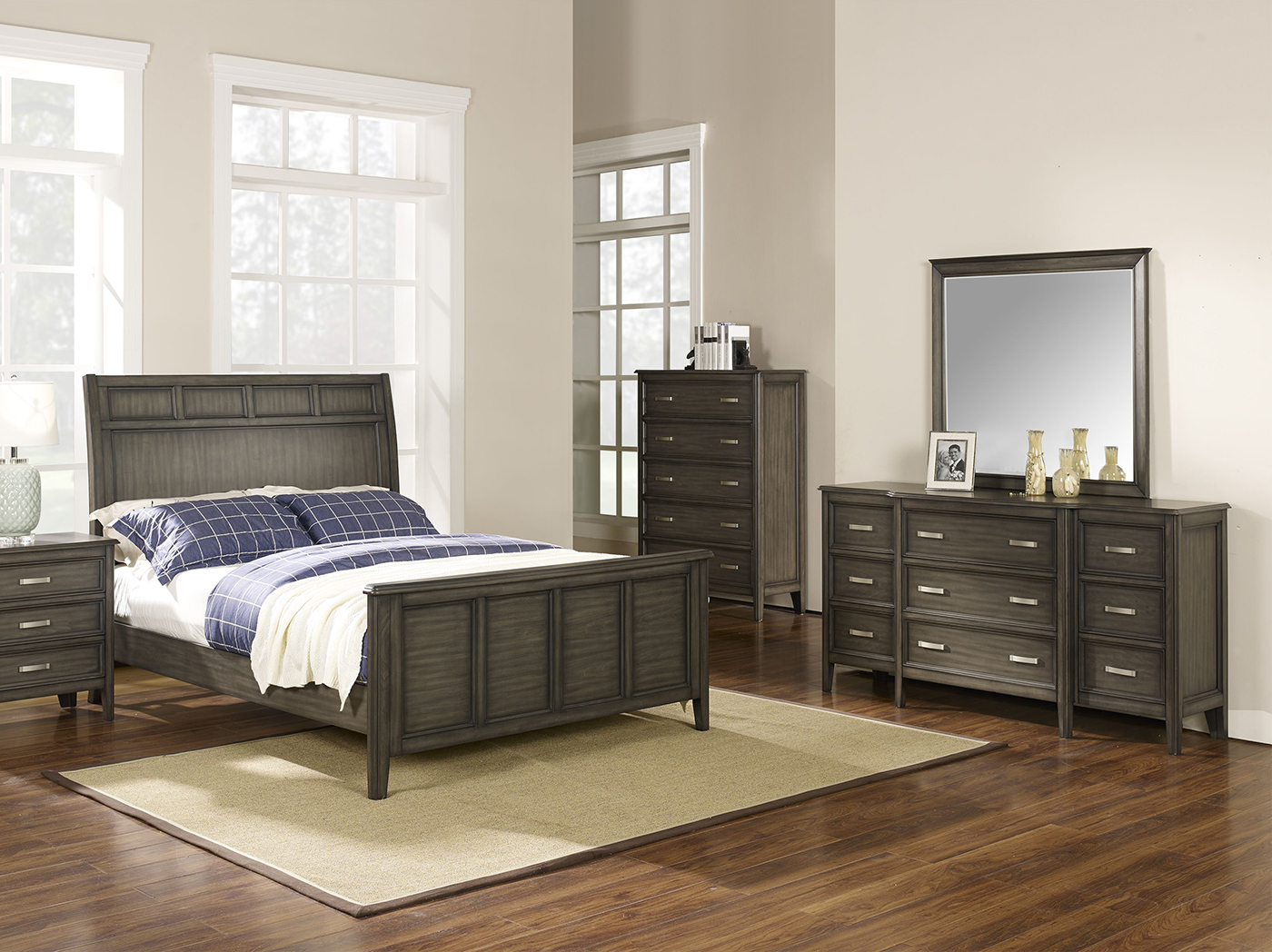 Richfield Smoke King Bed