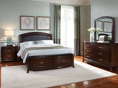 Brennan King Storage Bed Steinhafels