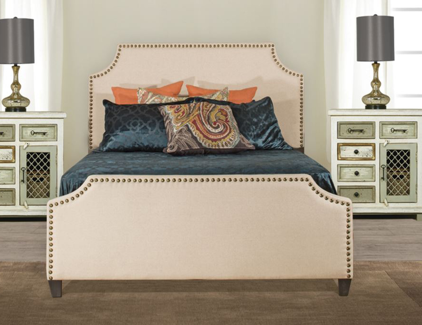 Dekland King Upholstered Bed