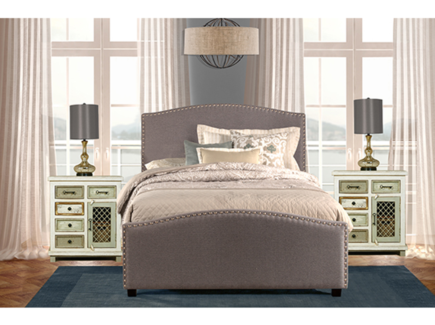Kerstein King Bed