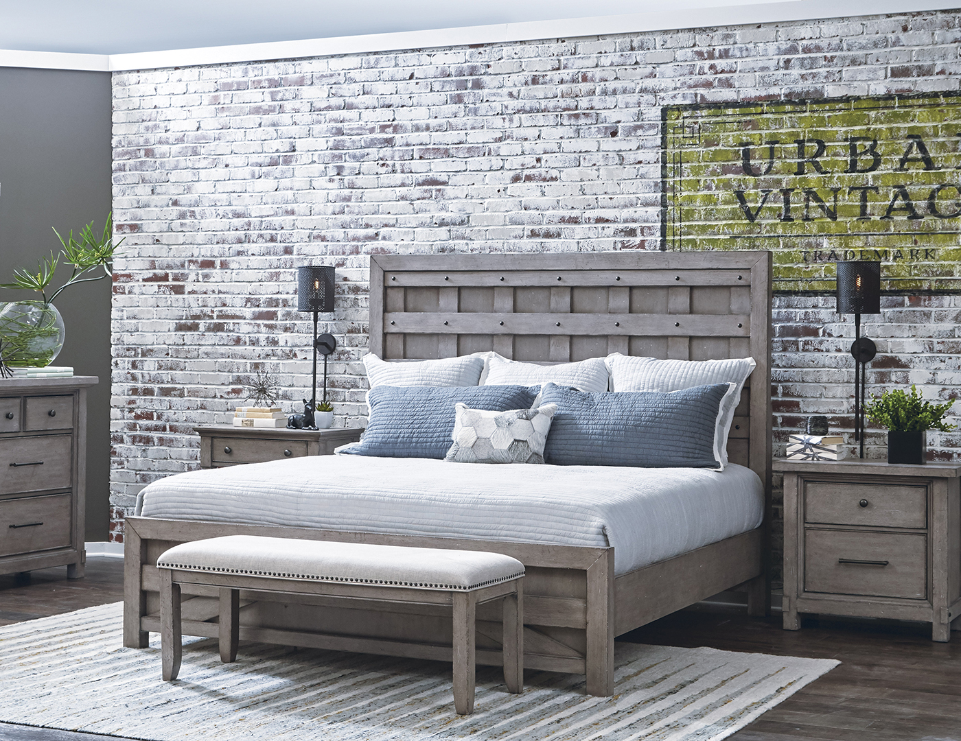 Prospect Hill King Panel Bed
