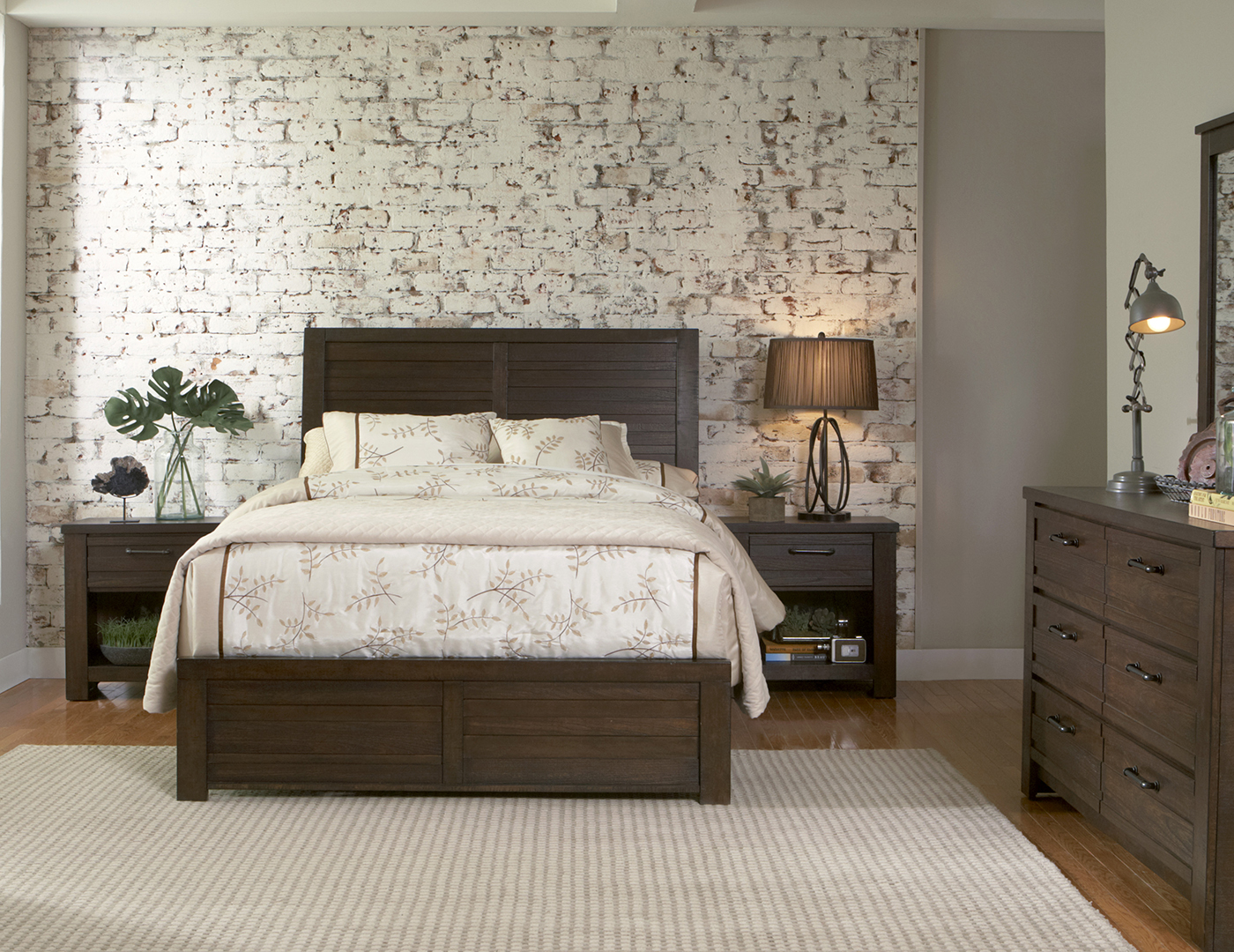 Ruff Hewn King Panel Bed