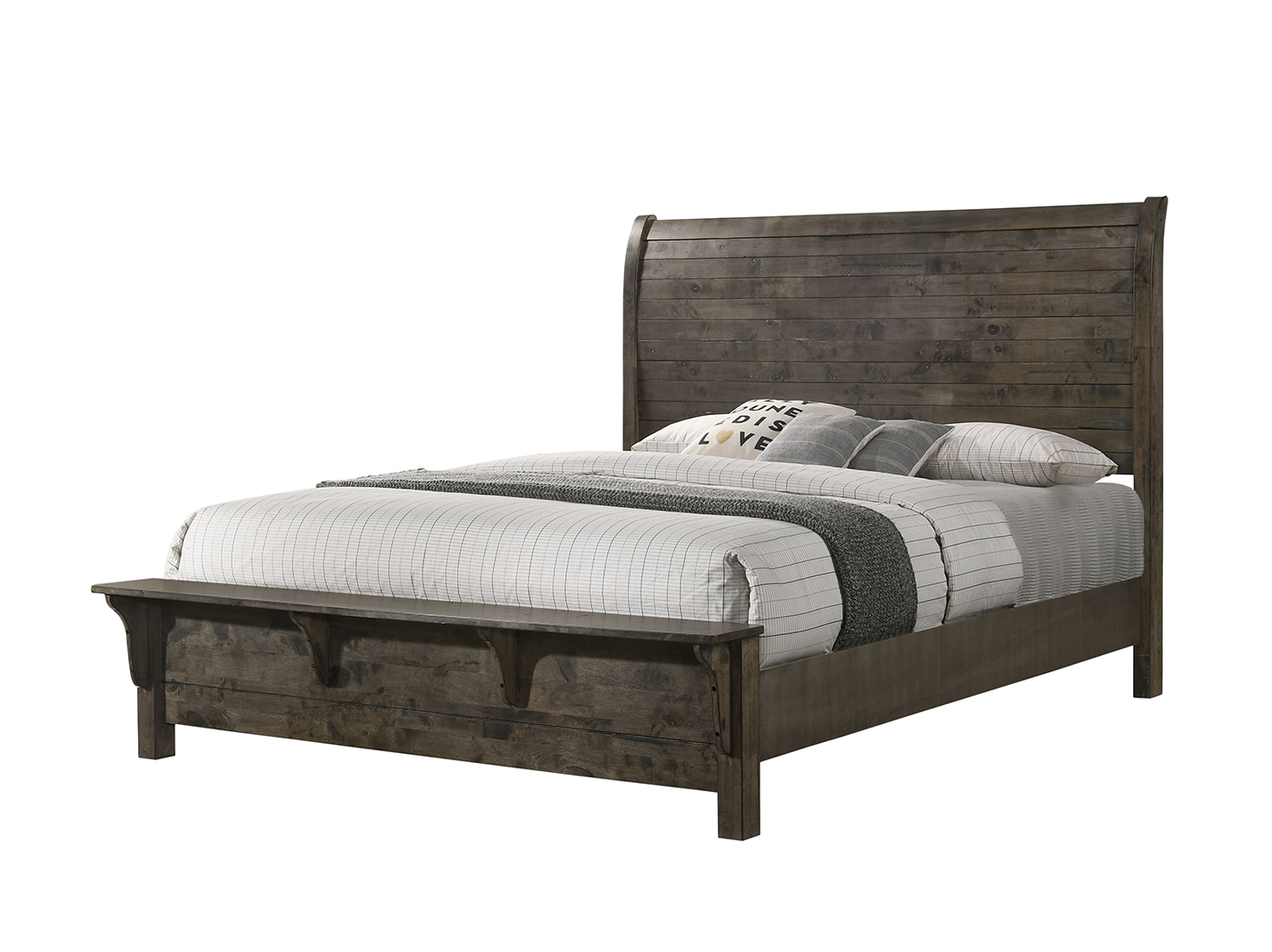 Rock Ridge King Sleigh Bed