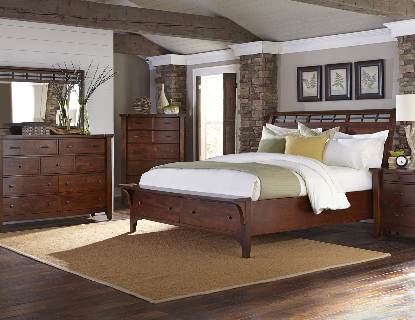 Whistler Retreat King Storage Bed Steinhafels