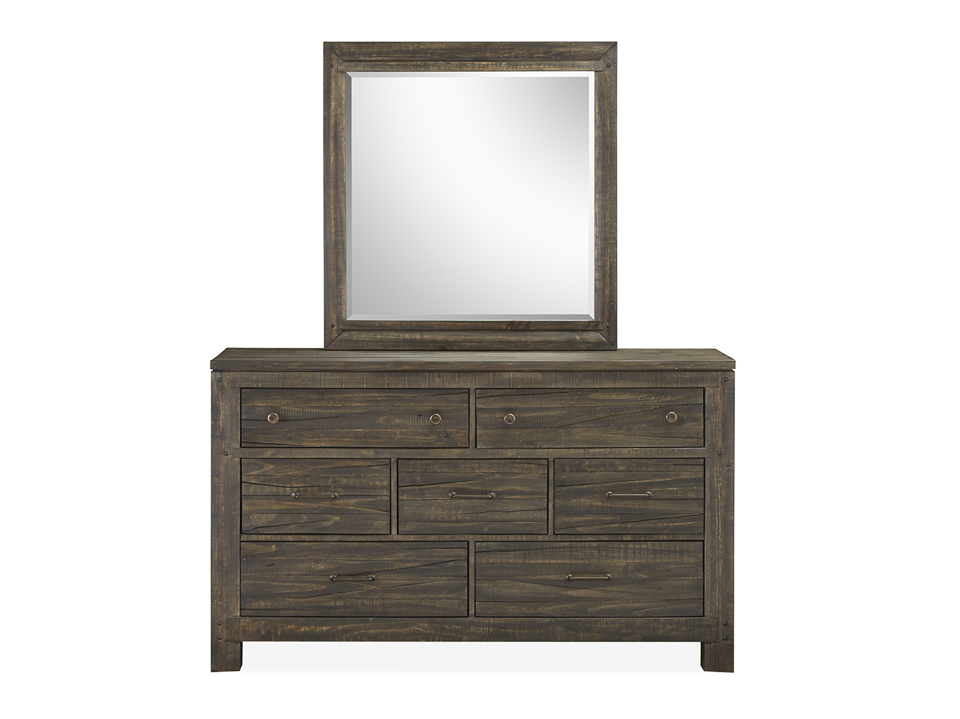 Ridgeview Dresser and Mirror