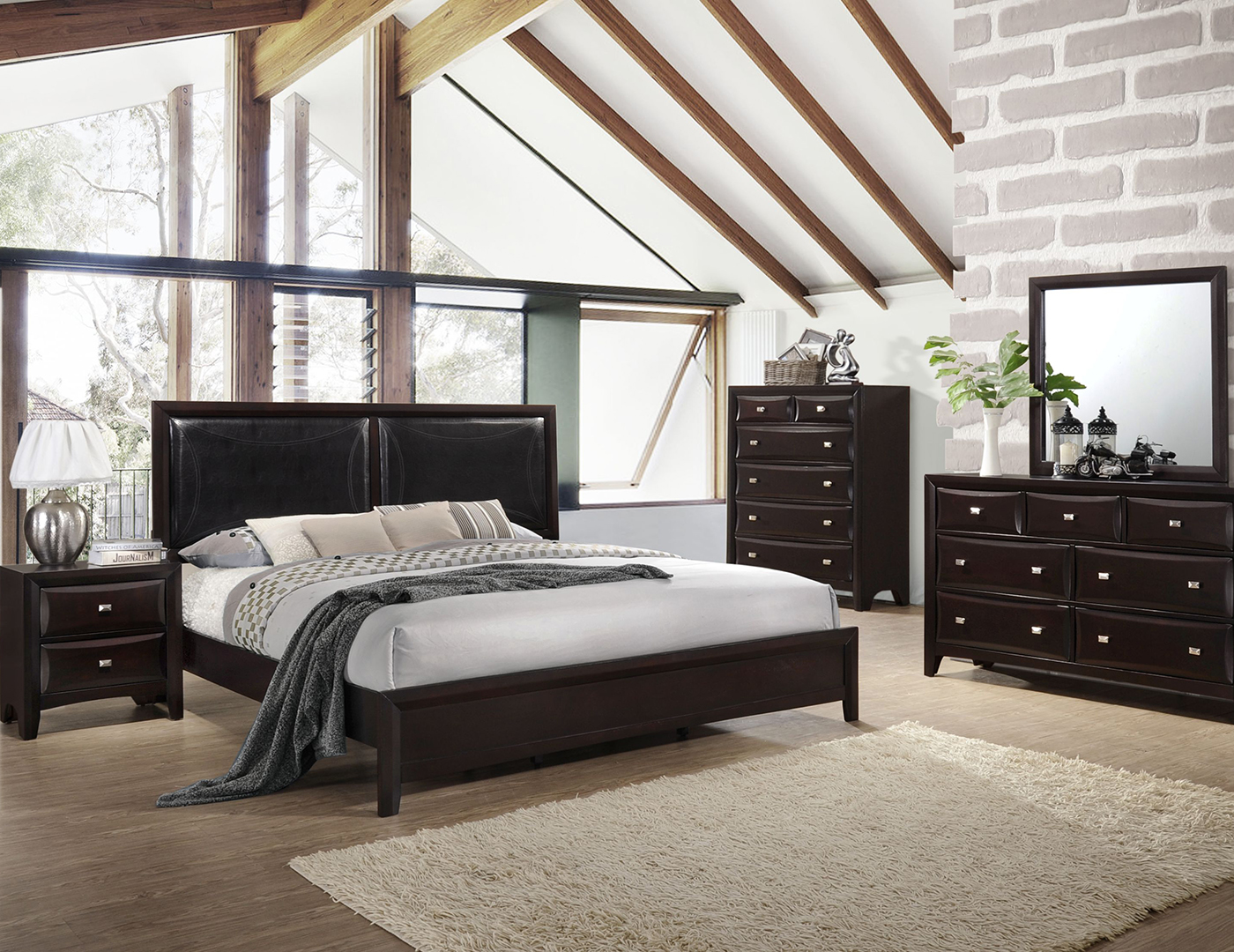 River 5-pc. King Bedroom Set
