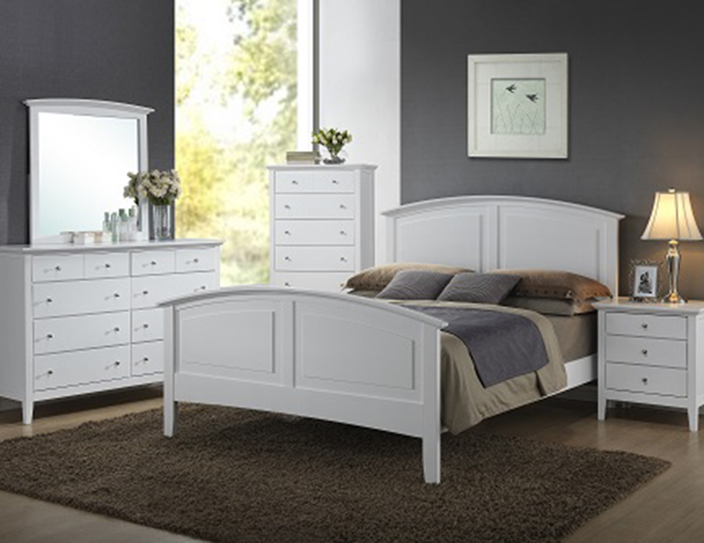 Steinhafels - Parkway 5-pc. Queen Bedroom Set