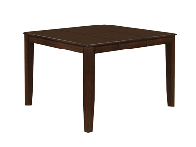 dark rustic dining table