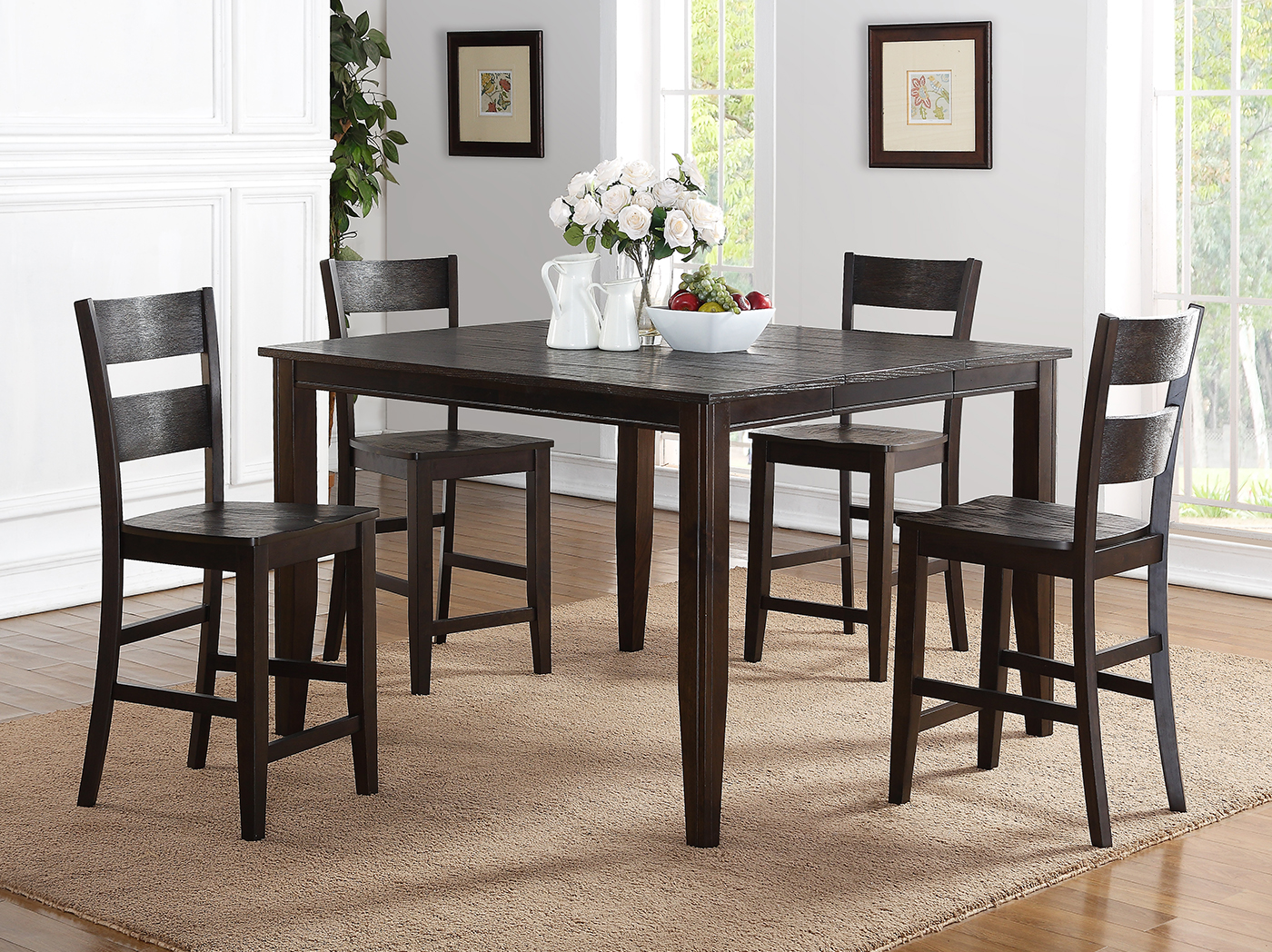7 Pc. Counter Height Dining Set