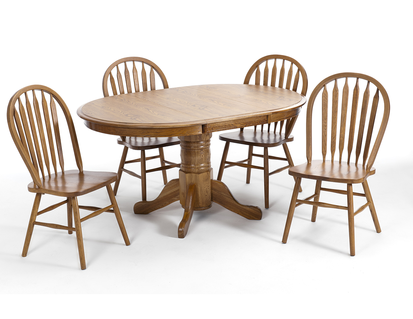 Classic Oak 5-pc. Dining Set