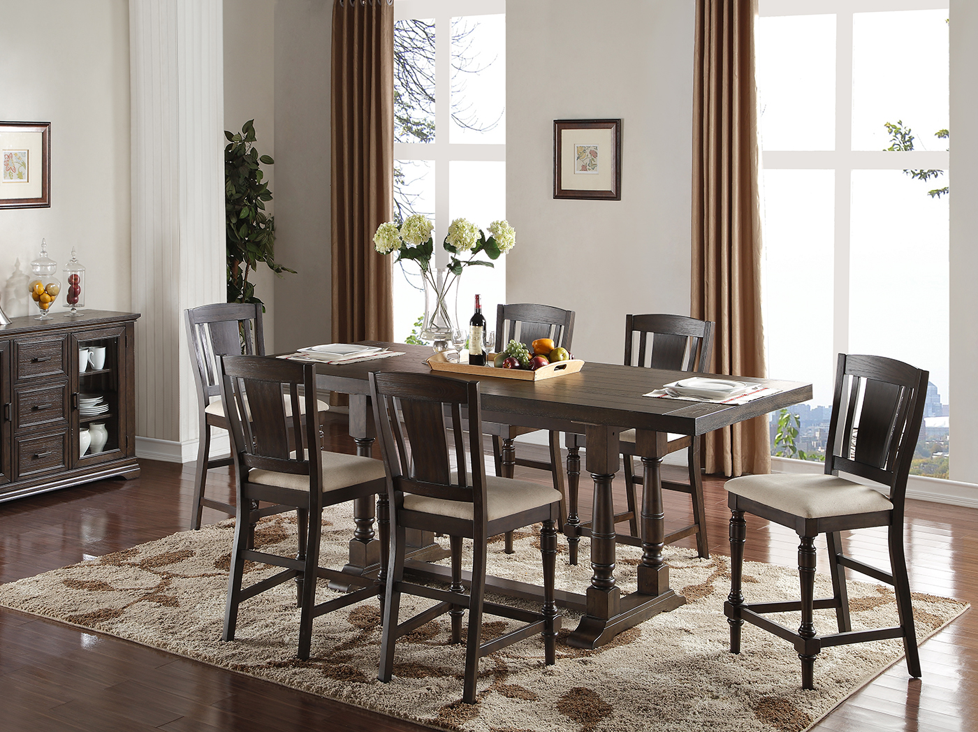 Madison 5-pc. Counter Height Dining Set