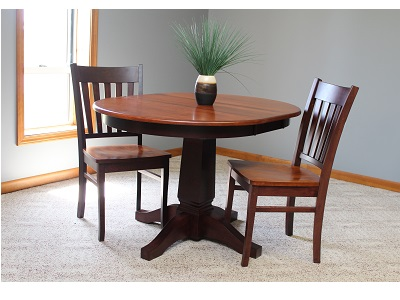 Riley Round Solid Maple Dining Table