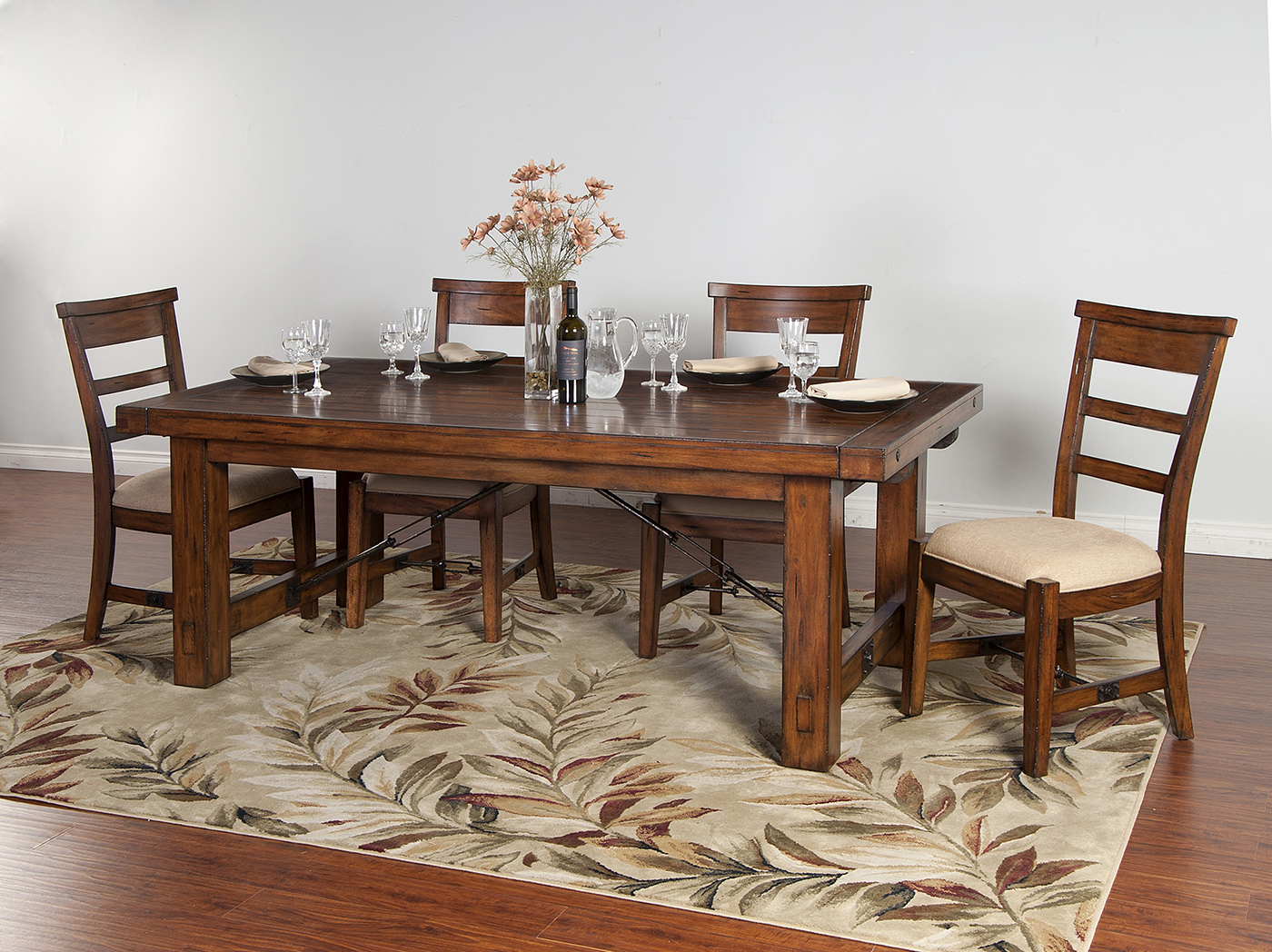 Genial Tuscany 5 Pc. Extension Dining Table Set