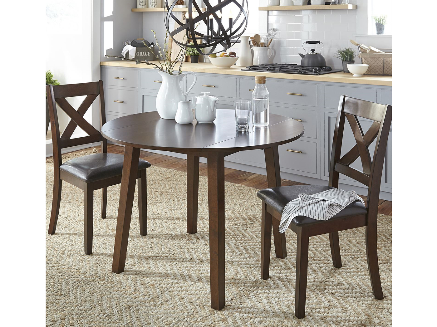Thornton 3-pc. Drop Leaf Dining Set