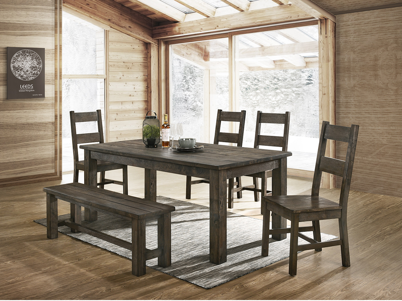 Rock Ridge 6-pc. Dining Set