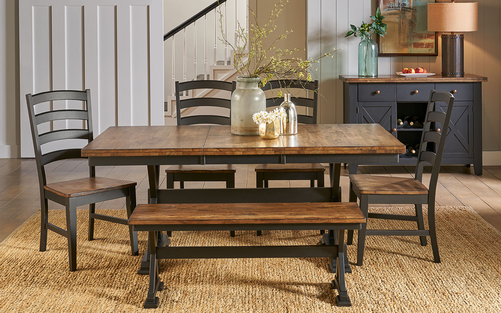 Creekside 6-pc. Dining Set with Bench
