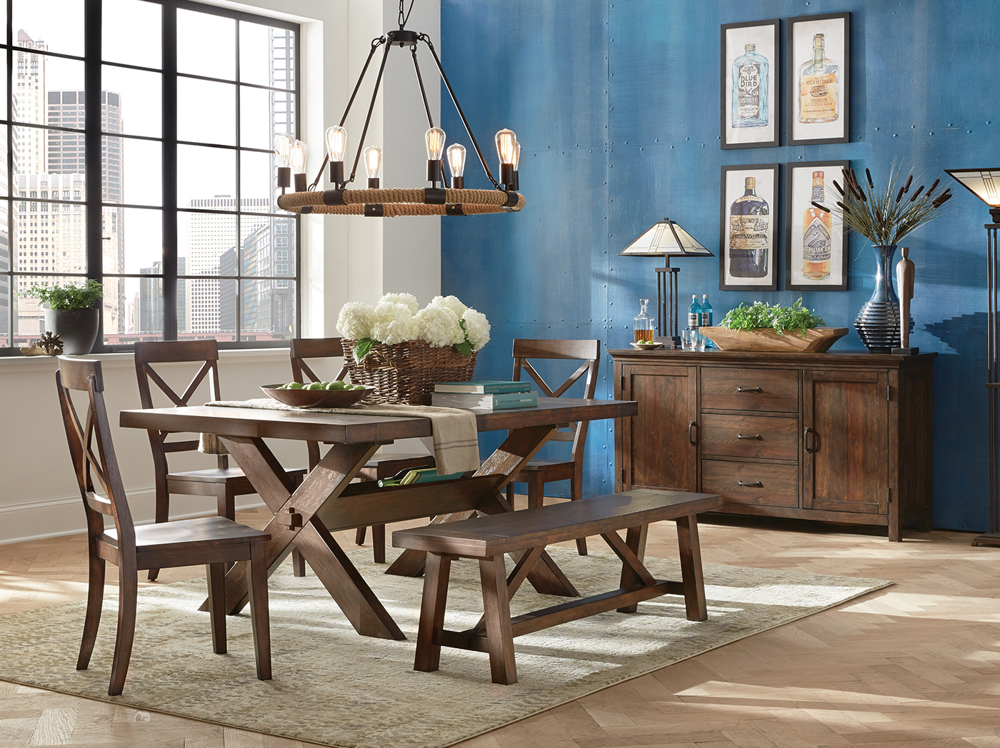 Direct Designs® Dakota 6-pc. Dining Set
