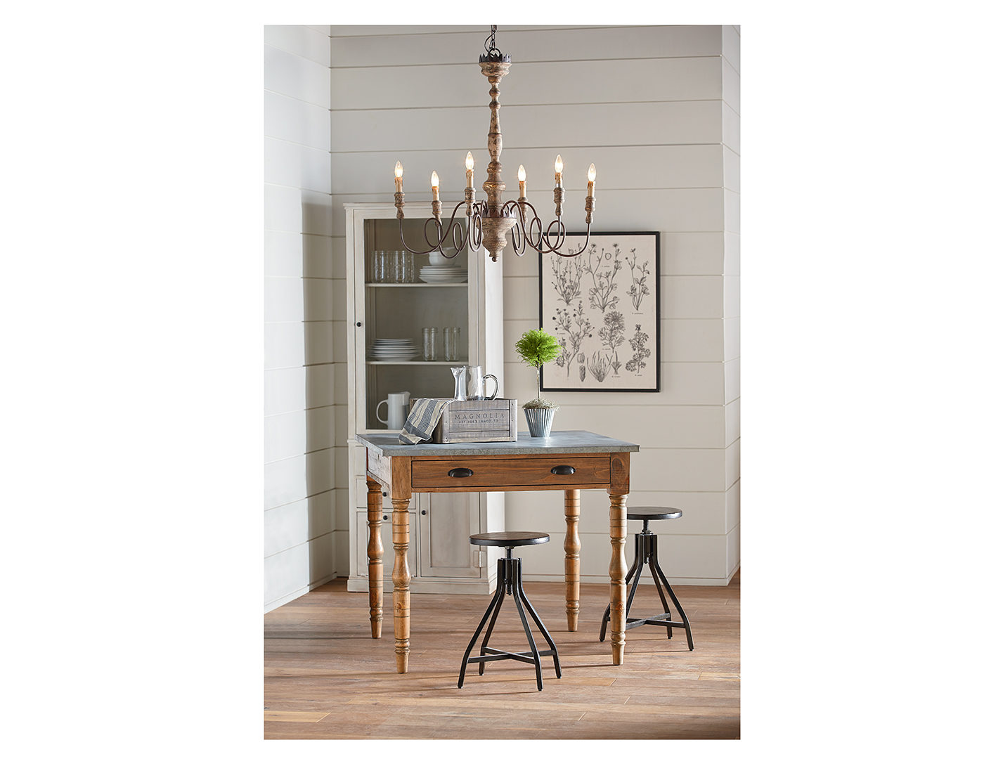 Magnolia Home 3-pc. Dining Set