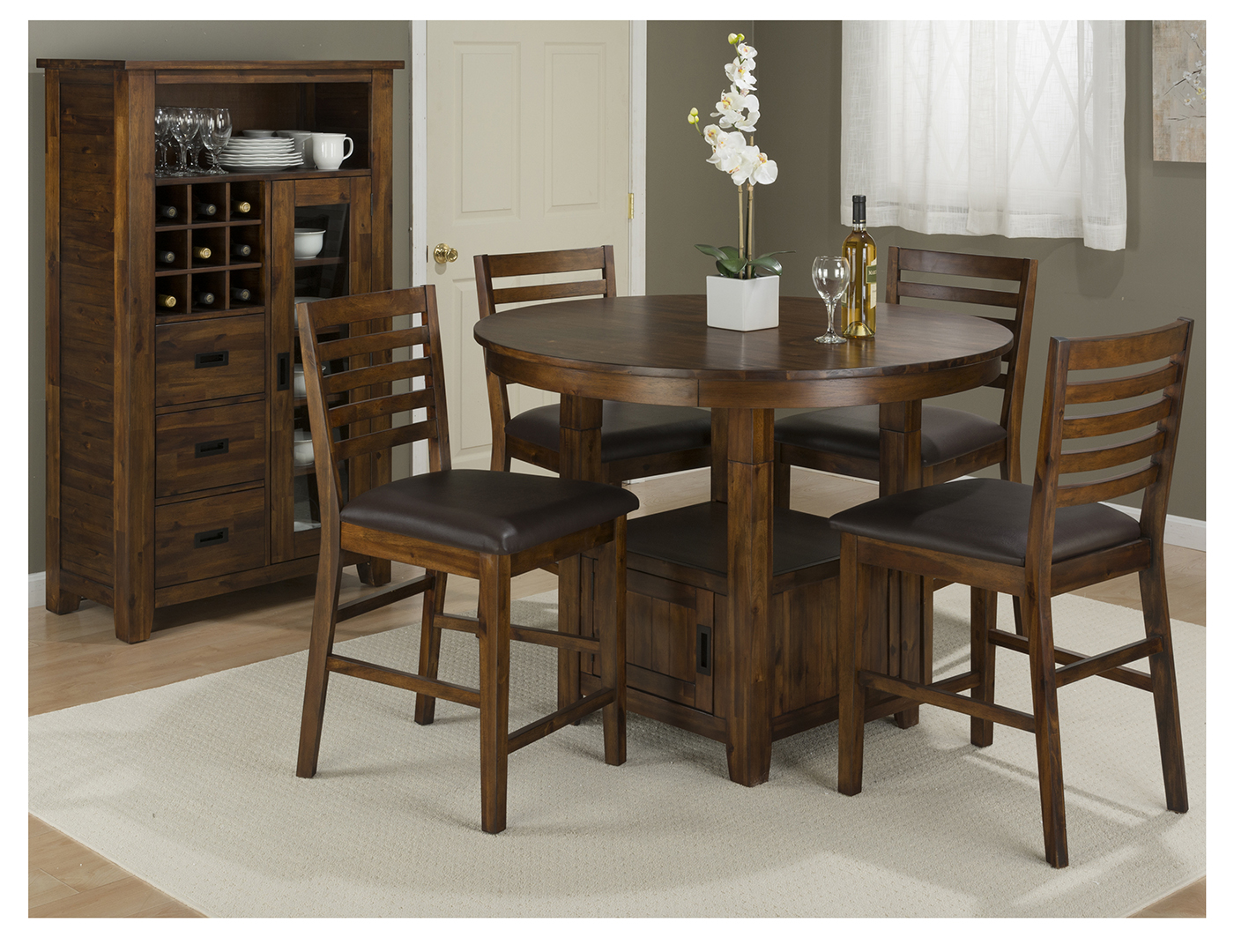 Coolidge Corner 5-pc. Counter Height Dining Set