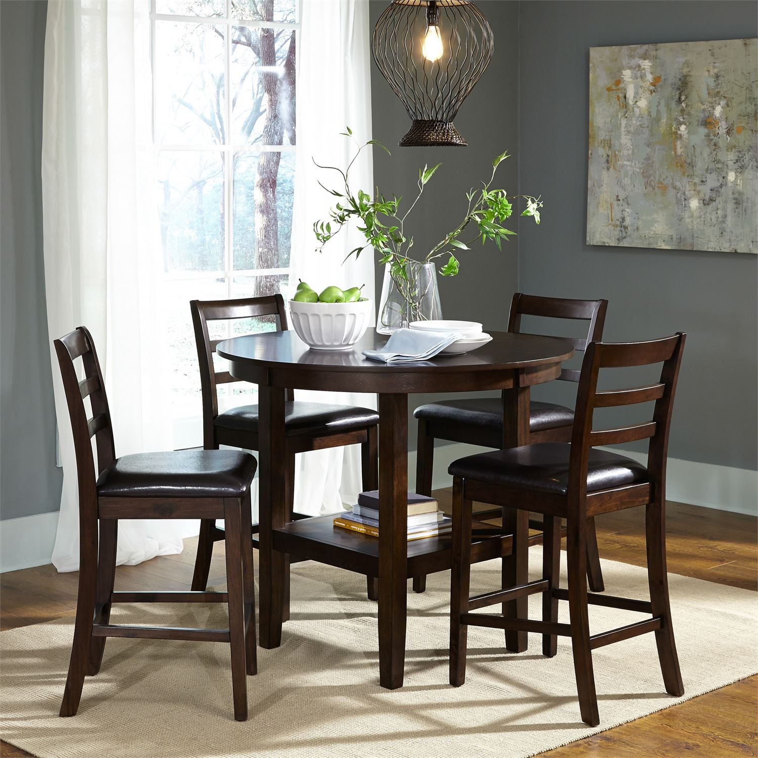 Hampton 5-pc. Counter Height Dining Set