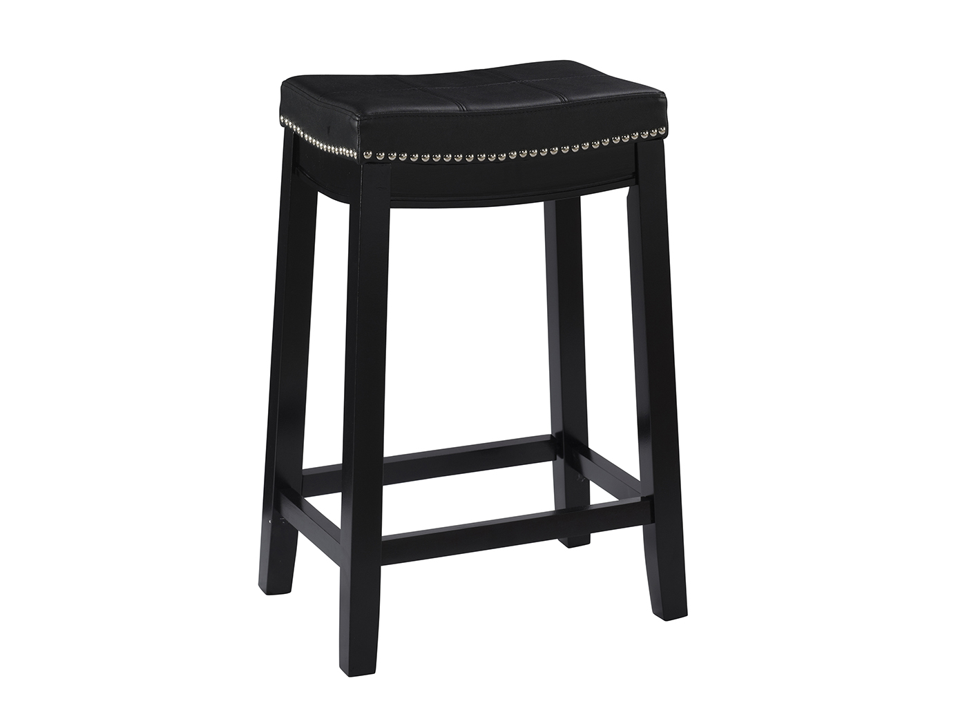 Addison Black Counter Stool