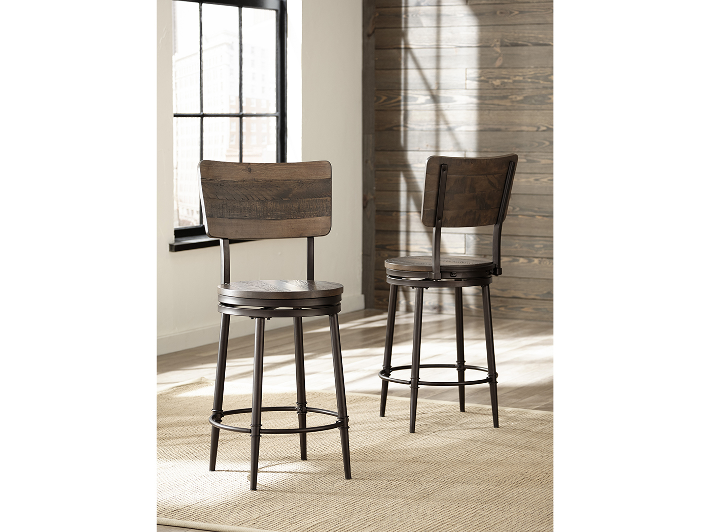 "Jennings 30"" Swivel Barstool"