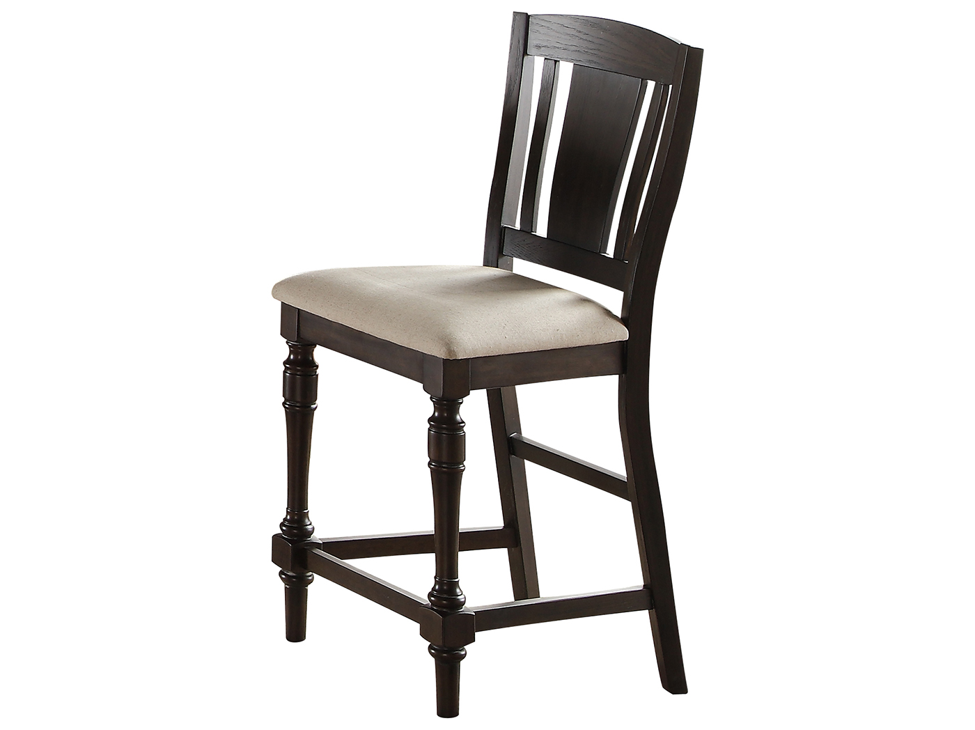 Madison Upholstered Seat Counter Stool