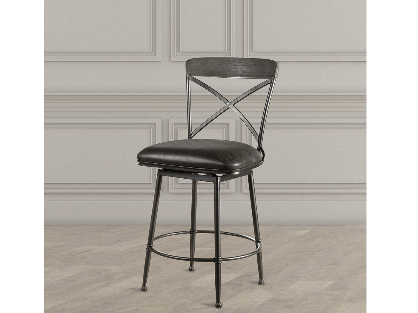 "Decker 30"" Swivel Barstool"