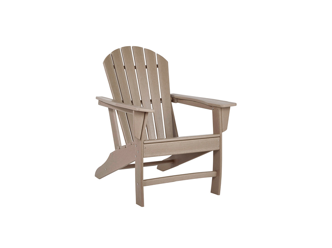 Signature Design Adirondak Chair Driftwood